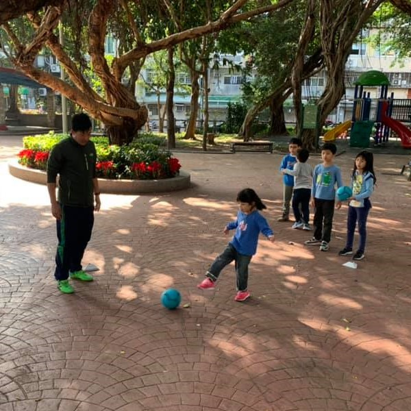 冬令營 足球課